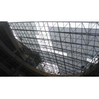上海医院酒店车站大堂大跨度玻璃采光网架工程设计安装