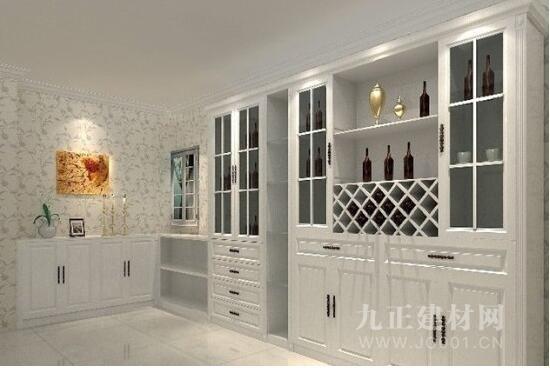 朋友们可以根据自己房子的大小选择最适合自己的酒柜.
