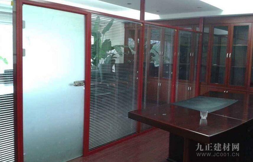 办公室屏风隔断效果图1