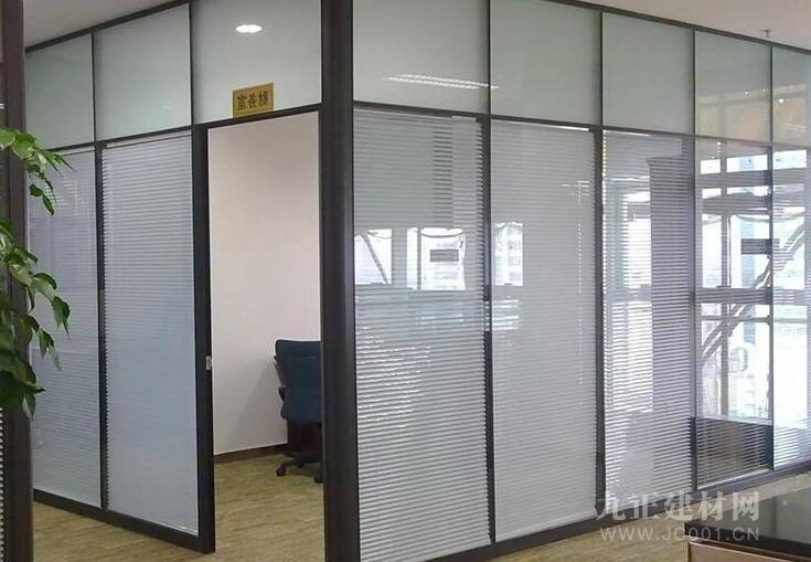 办公室屏风隔断效果图3