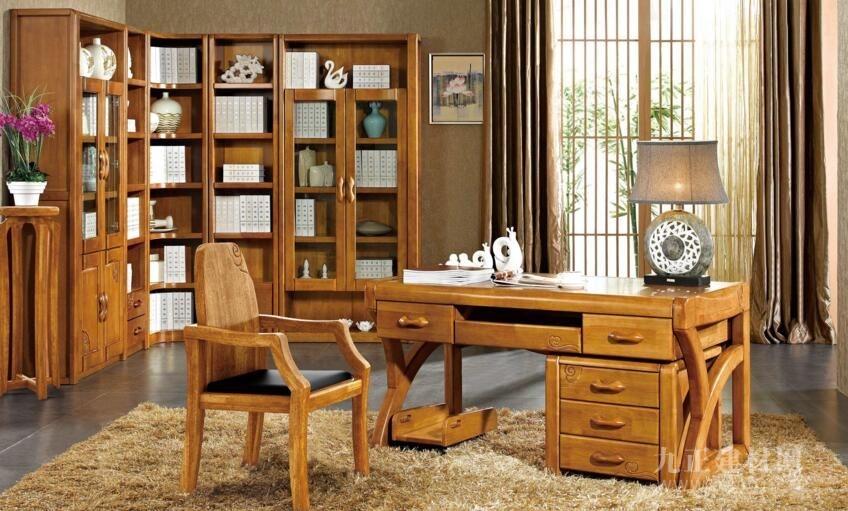 书房书架的设计效果图2