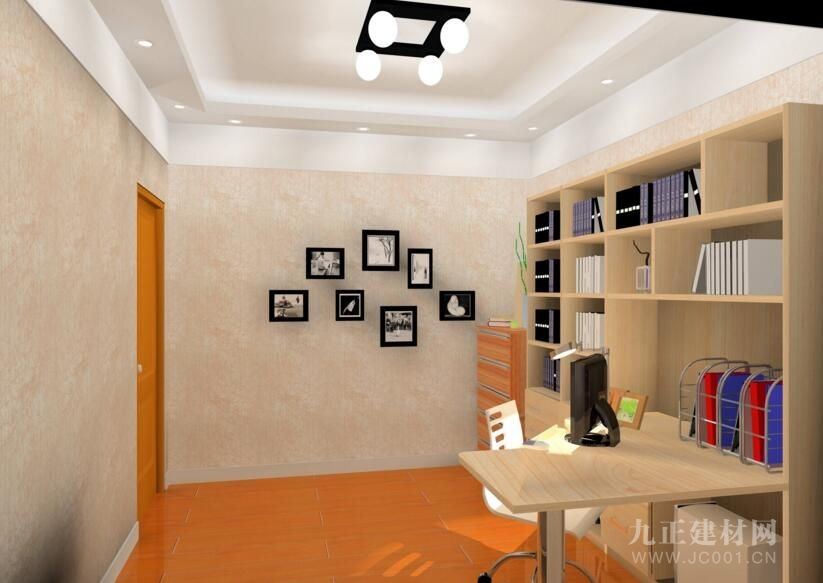 书房书架的设计效果图4