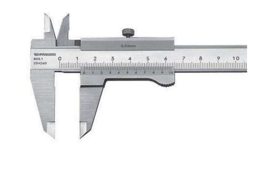 新手紧固件基础知识卡尺的精确度是多少?卡尺