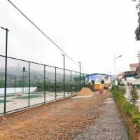 生产球场框网 浸塑护栏网 金属隔离边框网
