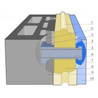 玻璃基榫扣装饰保温砌块及清水墙抗渗体系专利项目