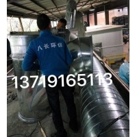 番禺白铁风管工程-增城工业除尘通风管工程-法兰/不锈钢风管
