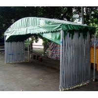 汽车帐篷、移动车蓬、推拉停车棚 伸缩折叠车库雨篷