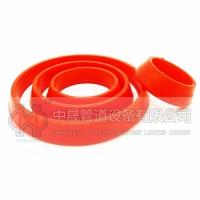 定制热力管道专用橡胶密封圈 红色硅橡胶橡胶圈 大量现货