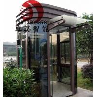 南京钢结构岗亭,不锈钢岗亭,雕花板岗亭,防腐木岗亭