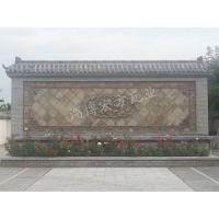 各类影壁墙 砖雕 古建瓦 仿古配件 青瓦青砖