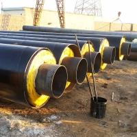預制聚氨酯泡沫保溫管供應商,熱力直埋保溫管報價