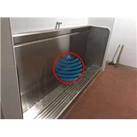 南京忆水304不锈钢小便槽池加工订做安装厂家不锈钢洗手台