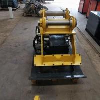 液压振动夯 平板夯实器 挖掘机震动夯实设备
