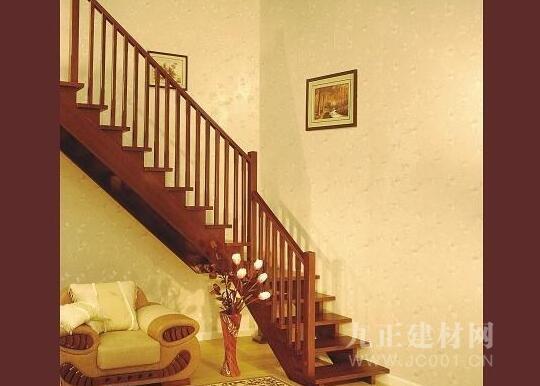楼梯木扶手安装效果图3