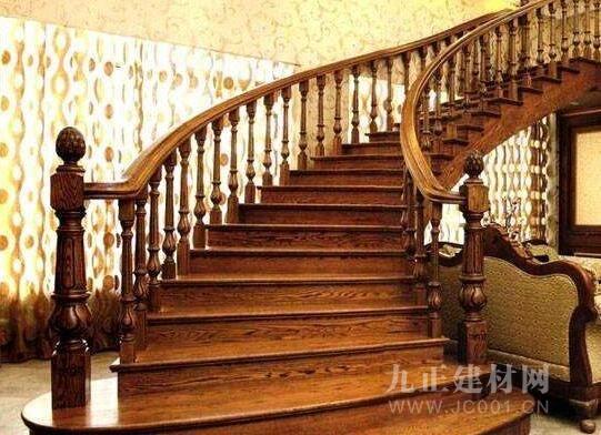 楼梯木扶手安装效果图4