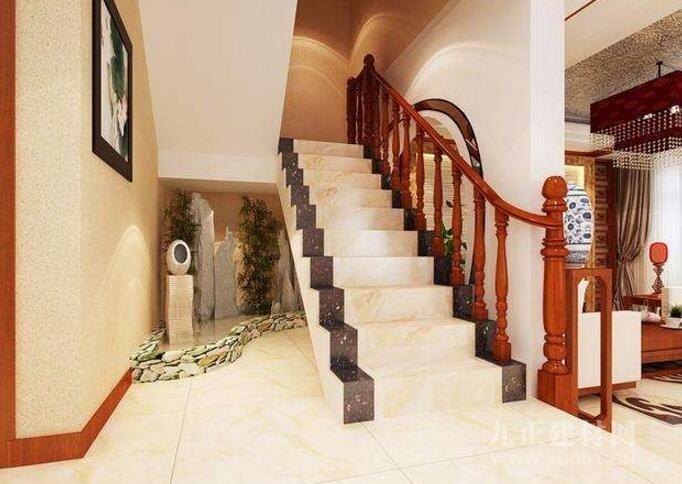很多人在设计别墅楼梯的时候往往会不注重细节点。其实在设计的时候,是非常讲究技巧的。以下就是在设计别墅楼梯时需要注意的地方: (1) 台阶高度 对于一些空间比较窄的别墅来说,安装旋转楼梯是一个不错的方法。如果大家有在楼梯上踩悬空的经历,想想那种感觉,是不是往往会有吓一跳的感觉呢?