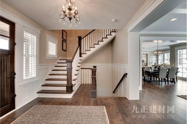 带楼梯的客厅效果图3