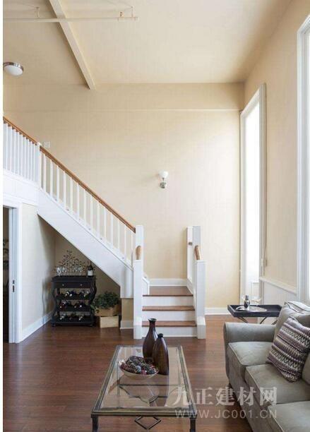 带楼梯的客厅效果图5