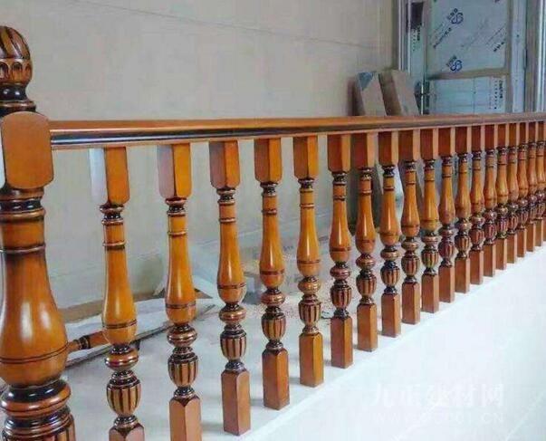 实木楼梯护栏图片1