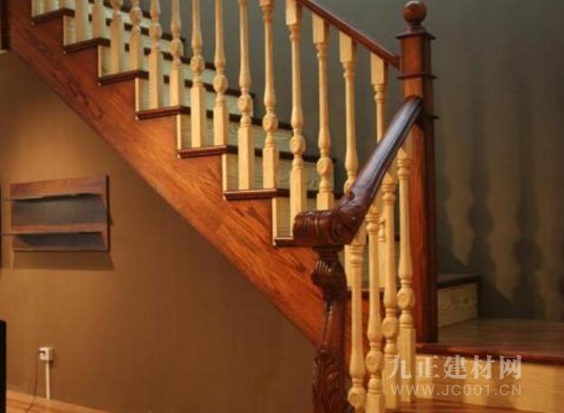 实木楼梯护栏