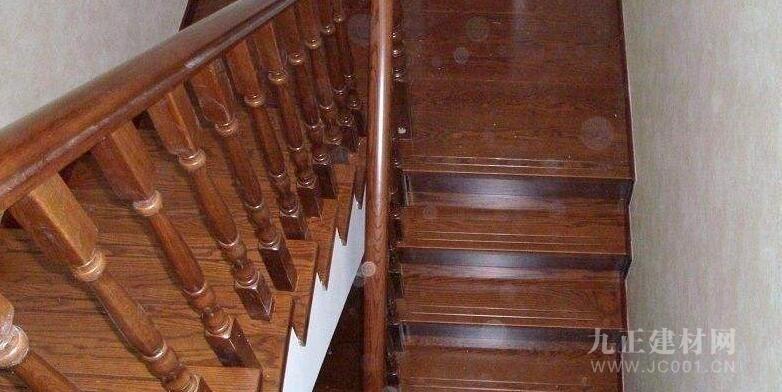 实木楼梯护栏图片2