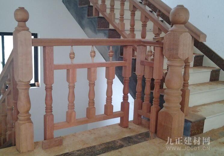 实木楼梯护栏图片4