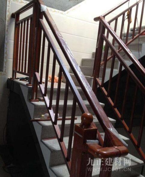 铝合金楼梯扶手图片4