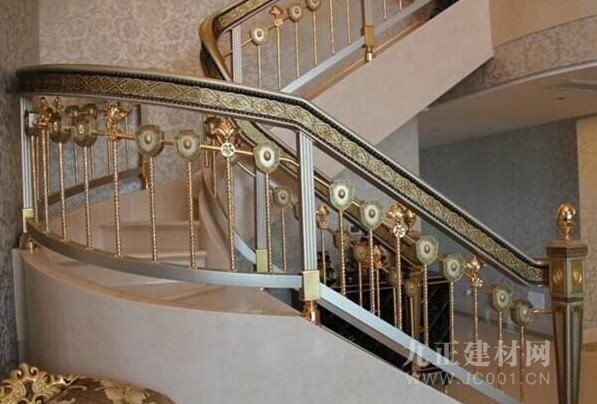 铝合金楼梯扶手图片6