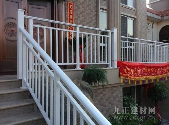 铝合金楼梯扶手图片7