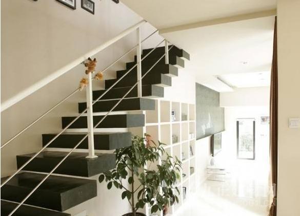 门面房楼梯效果图5