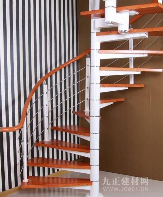 现代风格旋转楼梯
