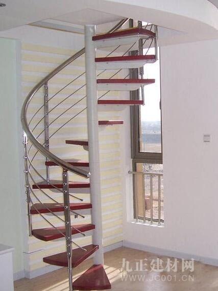 铁艺阁楼楼梯装修效果图2
