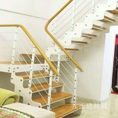 铁艺阁楼楼梯装修效果图3