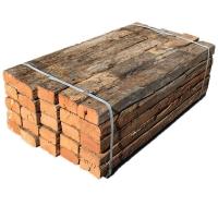 轨道用防腐枕木 道岔枕木厂家