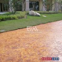压花地坪,石材木板彩砖和各种异形图案轻松印制在地面上
