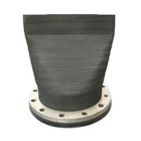 法蘭鴨嘴閥是由法蘭和膠體組成,用于管道排污