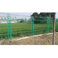 孟津雙邊浸塑護欄網果園公園圈地園林圍欄網綠色鐵絲防護網