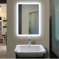 浴室卫浴定做镜 酒店智能挂墙大尺寸镜子 发光美容镜