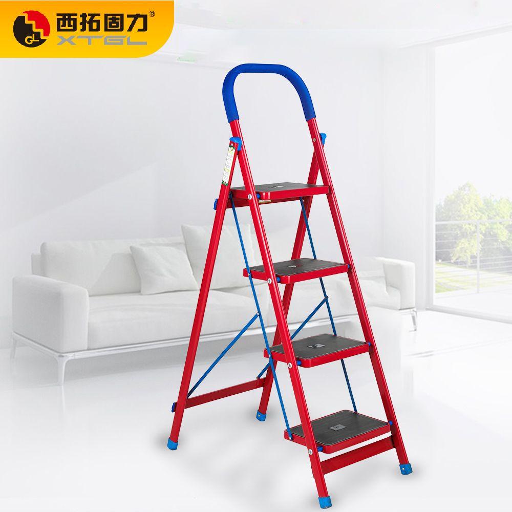 GL-201 塑钢宽板家用梯