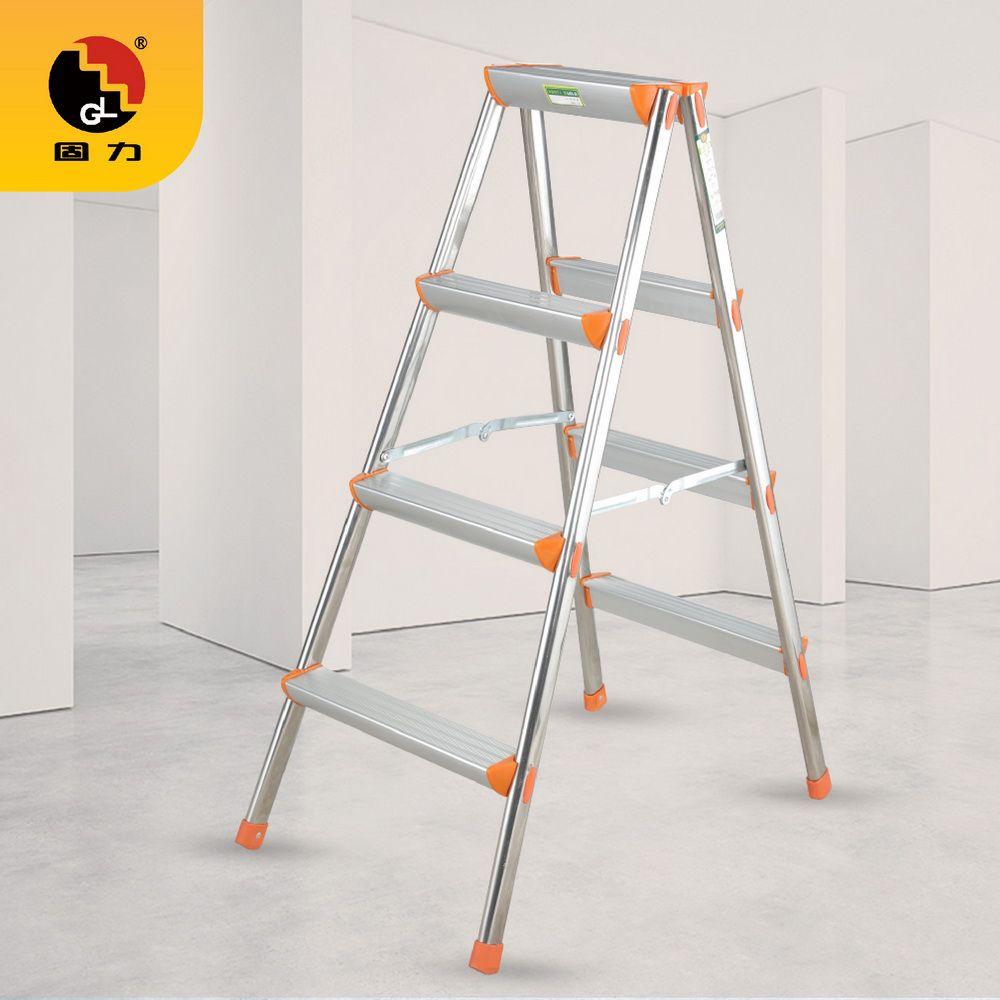 GL-606B不锈钢人字梯、家用梯