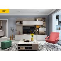 好莱客全屋定制欧标E0级实木颗粒板,全屋定制18平米。