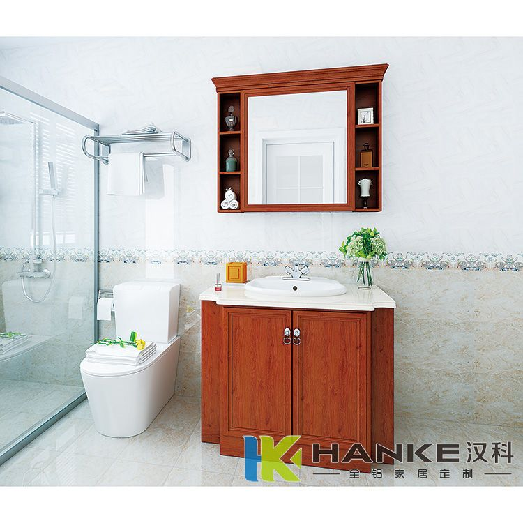 全铝浴室柜系列-汉科全铝家居