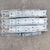 镀锌角钢冲孔货架定制打孔角码连接件零切