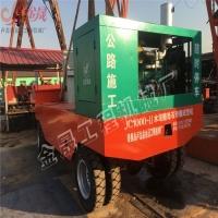黄南公路建设首选滑模摊铺机