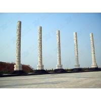 罗马柱设计安装寺庙石柱子  景区图腾文化柱