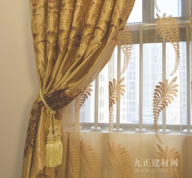客厅窗帘纱