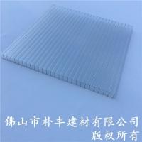 PC阳光板厂家,8mm四层阳光板,透明阳光板
