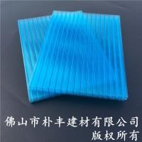 8mm陽光板,湖藍色陽光板,四層陽光板廠家