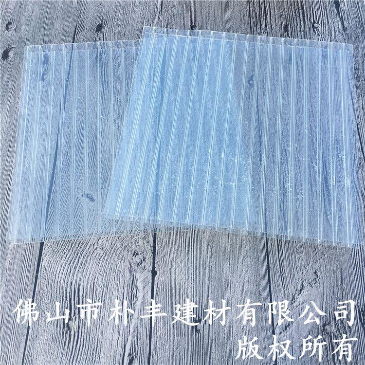 pc透明塑料板,工程用中空透明塑料板厂家