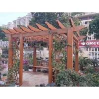 铝合金葡萄架 户外铝艺花架葡萄架 铝合金中式凉亭